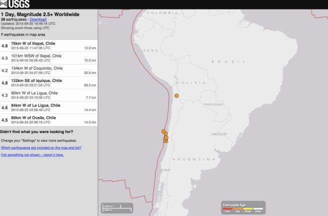 ChileQuake