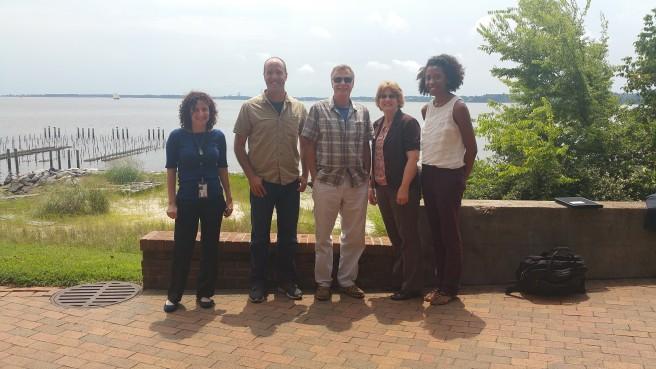 Sara Lubkin (NASA DEVELOP), Todd Egerton (ODU), Wolfgang Vgelbein (VIMS), Kimberly Reece (VIMS), Cassandra Morgan (NASA DEVELOP)